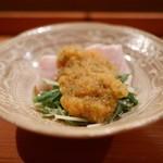 日本料理 山崎 - 鰤しゃぶ チリポン酢