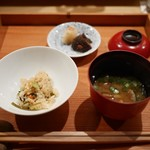 日本料理山崎 - お食事