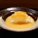 日本料理 山崎 - 蜜柑ゼリー、洋梨