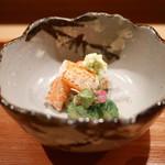 日本料理山崎 - ズワイガニの造里
