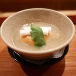 日本料理山崎 - 蕪みぞれ仕立て