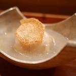 日本料理 山崎 - 里芋 満寿泉の酒粕味噌