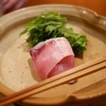 日本料理山崎 - 鰤しゃぶ