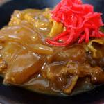 そば処 瓢箪 - ミニカレー丼(230円)