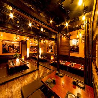 【団体予約もOK◎】職場の飲み会に大人気の大人数個室完備!