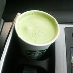 スターバックスコーヒー - 抹茶クリームラテ