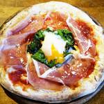 岩国イタリア食堂カンパーニュ - ★パルマ産生ハムの極上ビスマルク