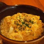 リブス&タパス ガブリシェア - ソパ・デ・アホ、ニンニクの卵とじスープ。あったかポカポカの1品
