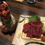 居酒屋 矢三朗 - 馬肉と天狗の徳利