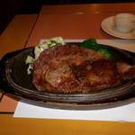 SATSUKI - 熊本県産の国産牛のサーロインステーキ・その2です。和風ソースをかけた後の様子です。