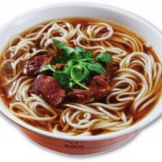 """究極の〆!自家製もちもち麺の""""牛肉麺"""""""