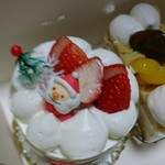 菓子処 酒井屋 - ミニクリスマスケーキ&モンブラン