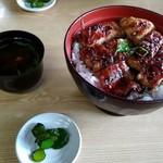 魚勝 - 鯰丼