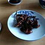 魚勝 - 鰻肝焼
