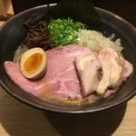 麵家 にぼ木屋 - 濃厚煮干し鶏そば750円