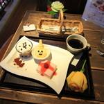 ふくじゅえん - 料理写真:クリスマス スィーツ プレート
