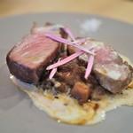 エスタシオン - 料理写真:イベリコ豚のアサード バルデオンソース