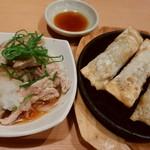 78449515 - せせりポン酢・台湾鉄板餃子