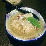 小樽旬菜 華かぐら - 海老しゅうまい蟹あんかけ