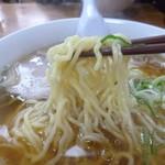 らーめん 太陽 - '17/12/24 麺アップ