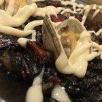 スペイン食堂 石井 - スペイン食堂 石井(東京都品川区旗の台)イカ墨のパエリア(1人前)