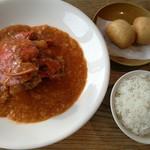 78454518 - シンガポールの名店レシピを使う名物チリクラブ、ジャスミンライス又は揚げパン付き