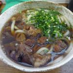 肉うどん 直 - 料理写真:「肉うどん小」600円