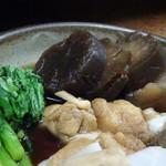 78455034 - ◆大根は4つにカットされ、良くお味が浸みていて美味しい。