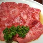 焼肉 充 - ③神戸牛3枚