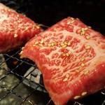焼肉 充 - ⑥厚和牛上ロース