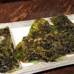 焼肉 充 - ⑧海苔チヂミ