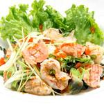 つきぢ神楽寿司 - 海鮮サラダ