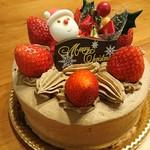 三木山スイーツガーデンフジキ - NOEL2017チョコクリームケーキ