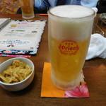 琉球酒場りっかりっか - オリオンビール