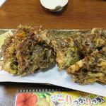 琉球酒場りっかりっか - もずくの天ぷら