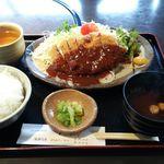 レストラン 牛石 - ビフカツ定食
