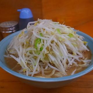 ラーメン二郎 - 料理写真:大ラーメン(そのまま)