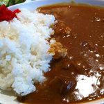 7846121 - お肉屋のビーフカレー(アップ)(2011.3)