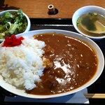7846123 - お肉屋のビーフカレー(大盛)(750円)(2011.3)