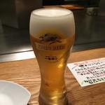 どんとこ - うまい生ビールアワード受賞の生ビール!
