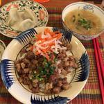 花果 - 豚肉と干しえび煮ごはんセット