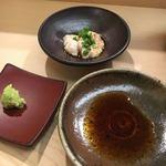 78464785 - カワハギの肝醤油・醤油