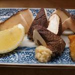 Ramman - 椎茸焼き