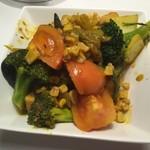 ボンベイ - 季節野菜のサブジ