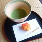 洗心亭 - 料理写真:お茶とお菓子