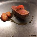 リナシメント - フランス鴨の胸肉のアッロースト