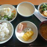 松島センチュリーホテル - 料理写真:あまり量が無いのは、単に朝はあまり食べないからです