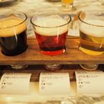 クラフト&ロマンス - 1500円で3種飲み比べ出来る「TASTING SET」