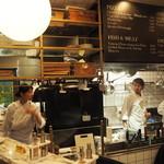 クラフト&ロマンス - オープンキッチン