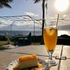 グリーンポスト - 料理写真:マンゴーチーズケーキ&生パッションフルーツジュース
